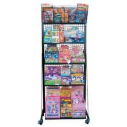KOMBY CARD Espositore per figurine (pacchi), card, deck, collezionabili e raccoglitori in acciaio verniciato