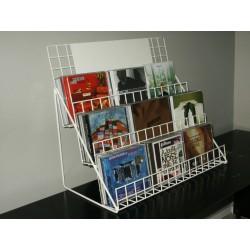 Espositore da tavolo per DVD-CD Espositore da tavolo per DVD-CD