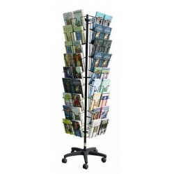 BP 72 L Espositore girevole per libri/DVD in acciaio verniciato