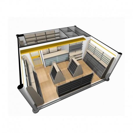 Arredamento edicola ruggine for Arredamento edicola