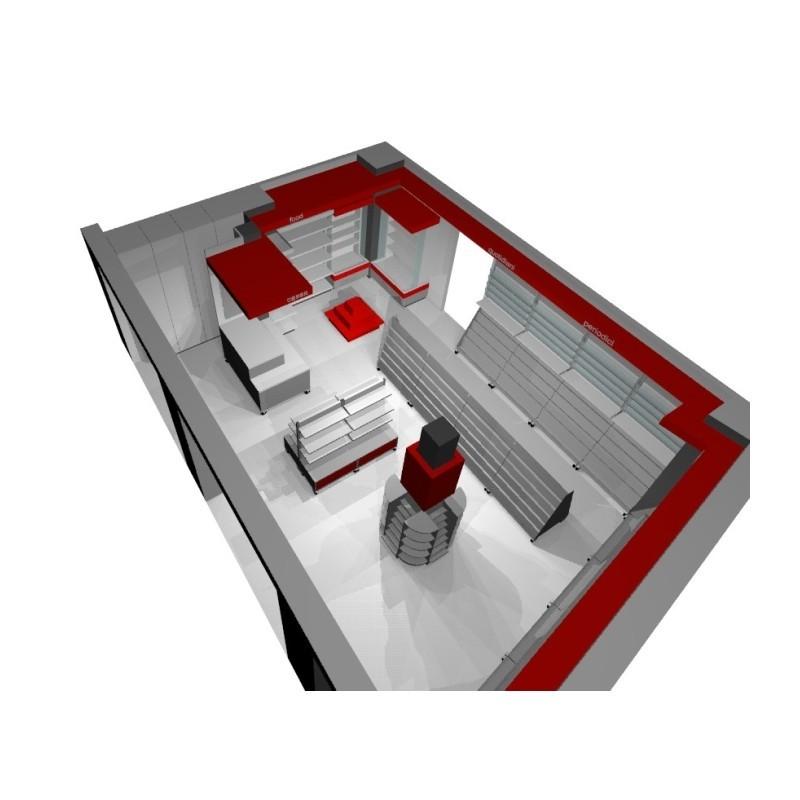 Arredamento edicola 1 ruggine for Arredamento edicola