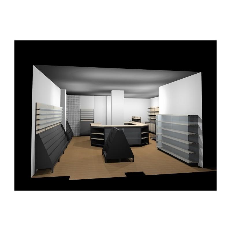 Arredamento edicola 2 ruggine for Arredamento edicola