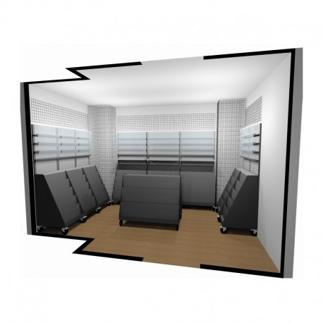 Arredamento edicola 3 ruggine for Arredamento edicola