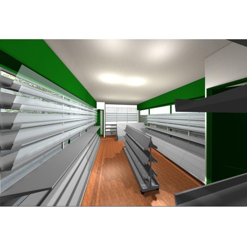 Arredamento edicola 4 ruggine for Arredamento edicola