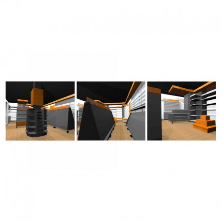Arredamento edicola 5 ruggine for Arredamento edicola