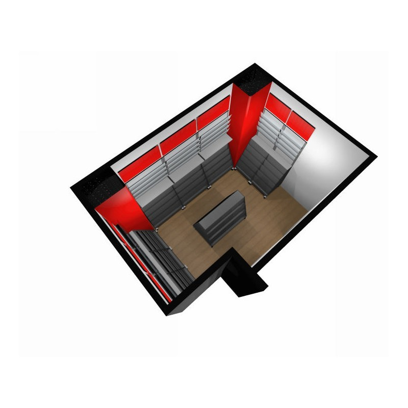 Arredamento edicola 6 ruggine for Arredamento edicola