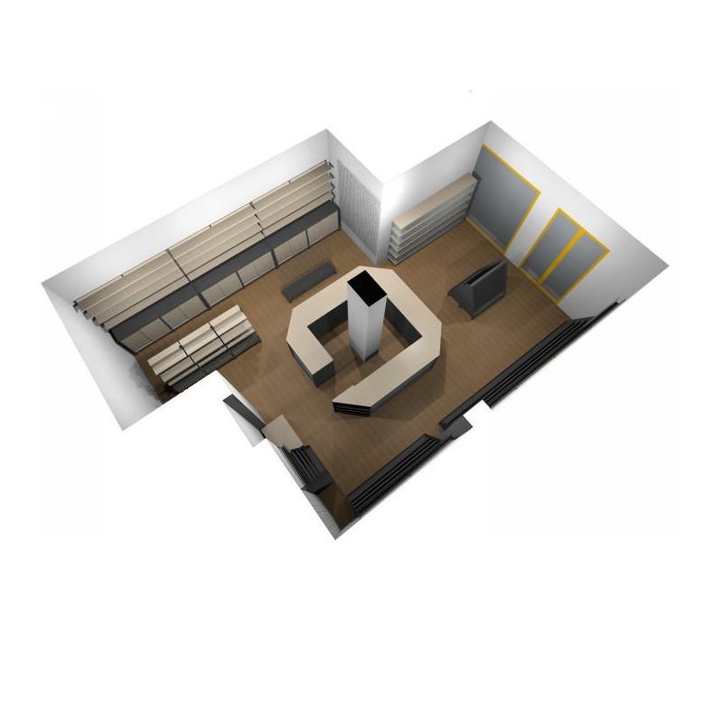 Arredamento edicola 7 ruggine for Arredamento edicola