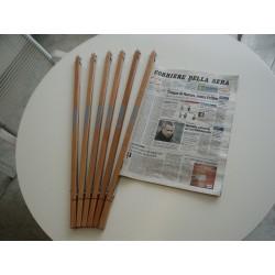 Stecche Portagiornali Stecche portagiornali in legno personalizzabili