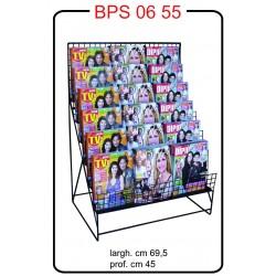 BPS 0655 Espositore per riviste in acciaio verniciato