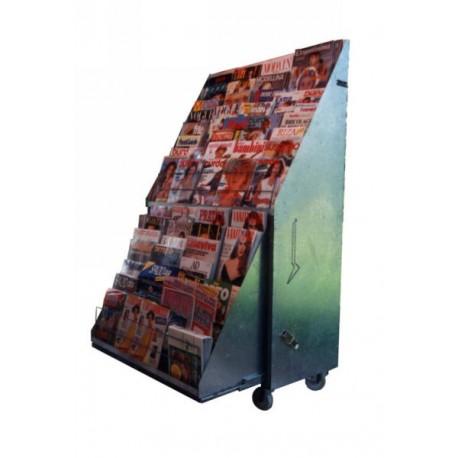 BP 00 CC Espositore per riviste in acciaio verniciato
